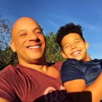 Vin Diesel's son Vincent