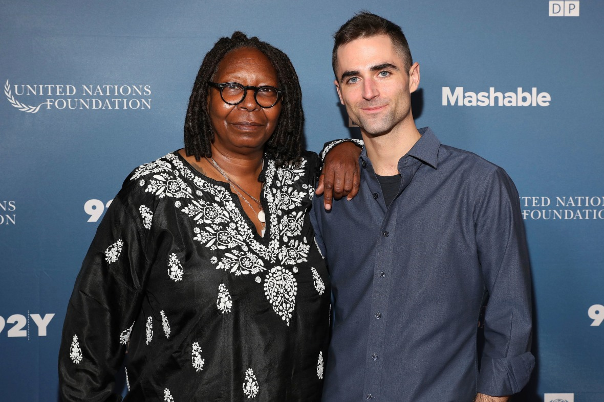 Whoopi Goldberg and Quinn Tivey