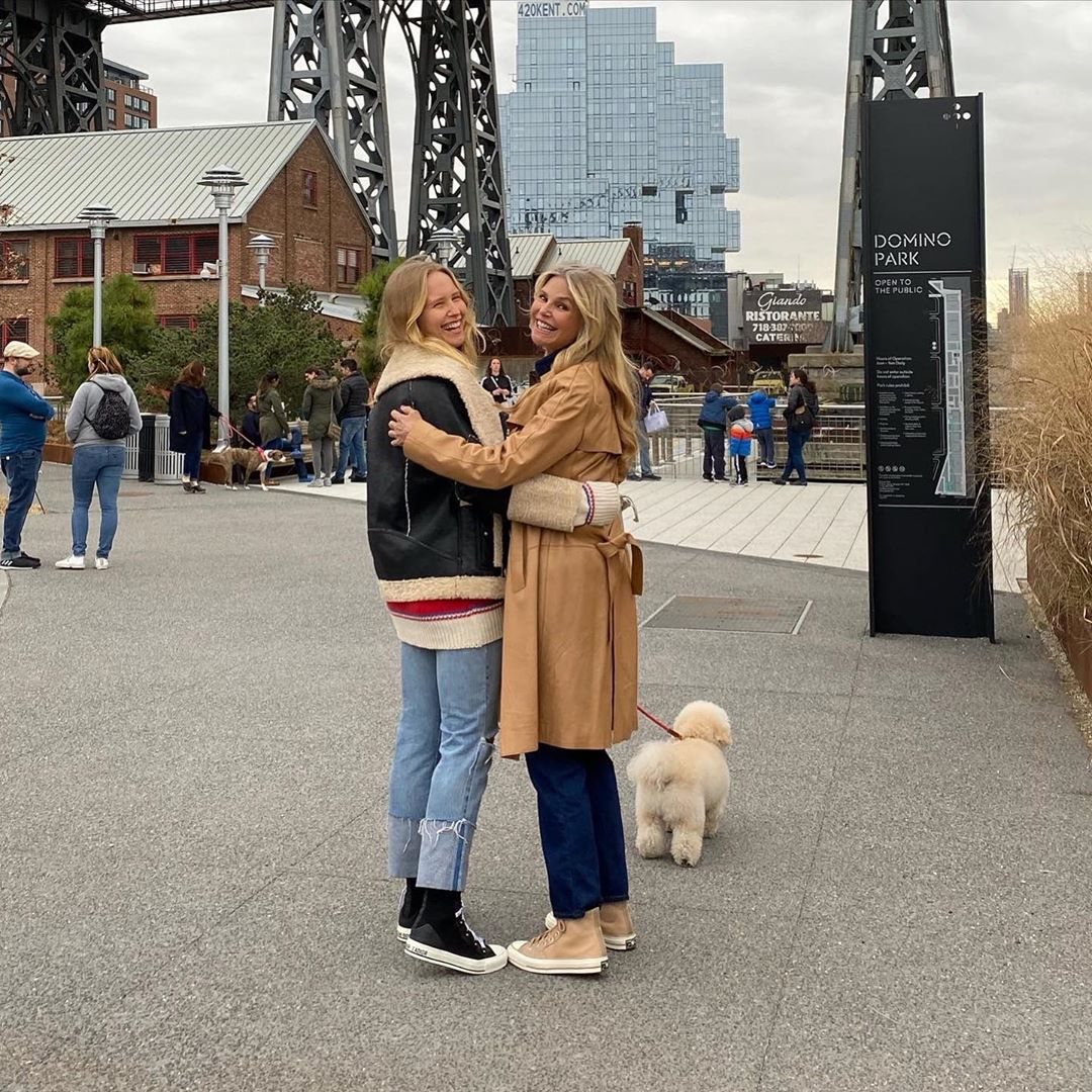Christie Brinkley Heads to the Park With Her 'Sunflower' Daughter Sailor