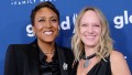 Amber Laign and Robin Roberts.
