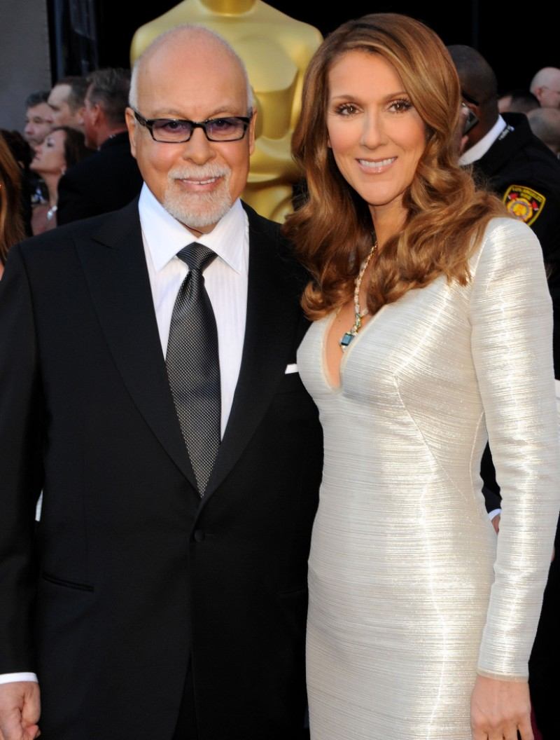 Celine Dion and late husband Rene Angelil