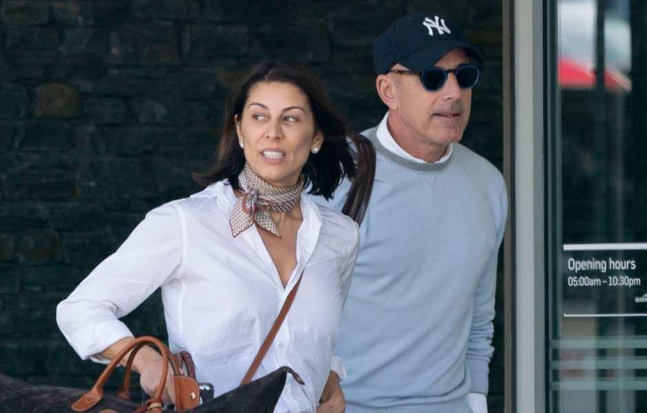 How Matt Lauer and New Girlfriend Shamin Abas Spent Their Romance-Filled Holiday Vacation