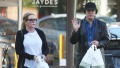 KISS' Gene Simmons and his wife Shannon Tweed go grocery shopping in Bel-Air!