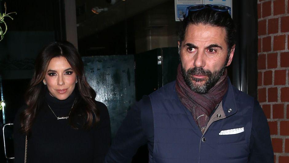 Eva Longoria and her husband Jose Baston enjoy dinner at 'Mr Chow' Restaurant in Beverly Hills, CA