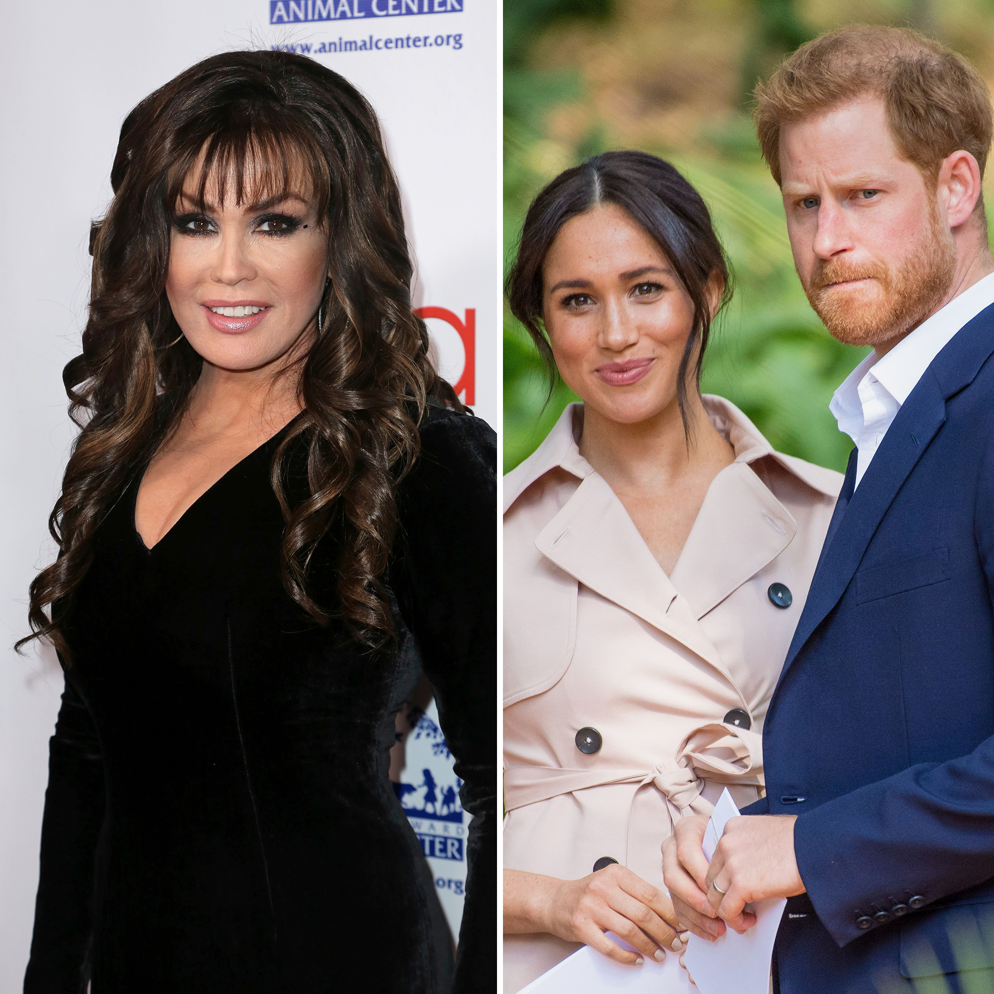 Marie Osmond Weighs In on Harry and Meghan's Decision to 'Step Back' From Their Royal Duties
