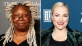Meghan McCain and Whoopi Goldberg