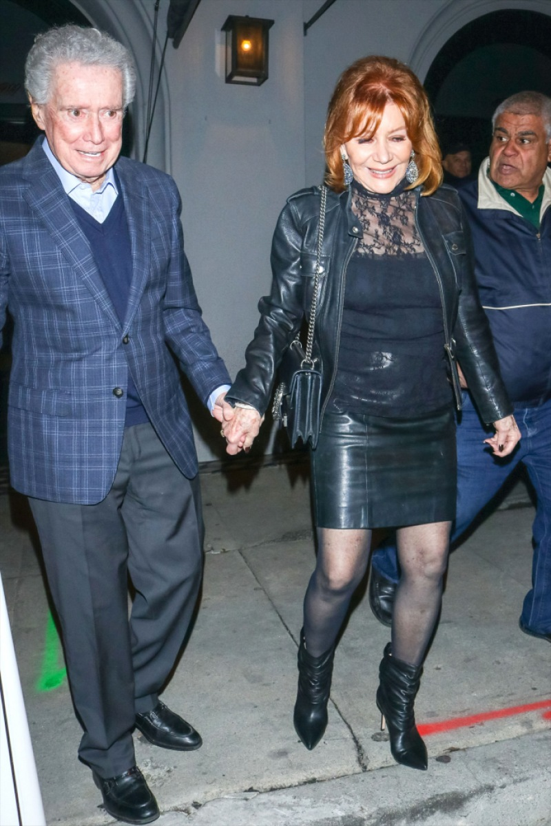 regis-Philbin-wife-joy-enjoy-outing