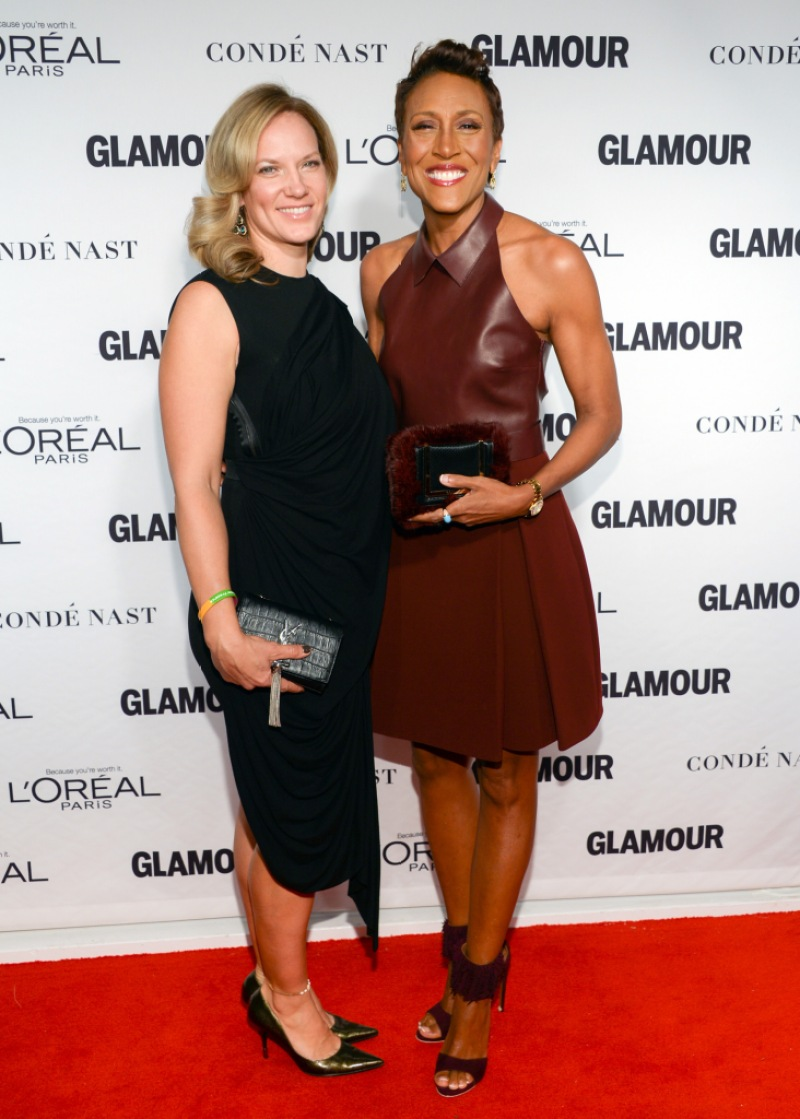 Robin Roberts and girlfriend Amber Laign