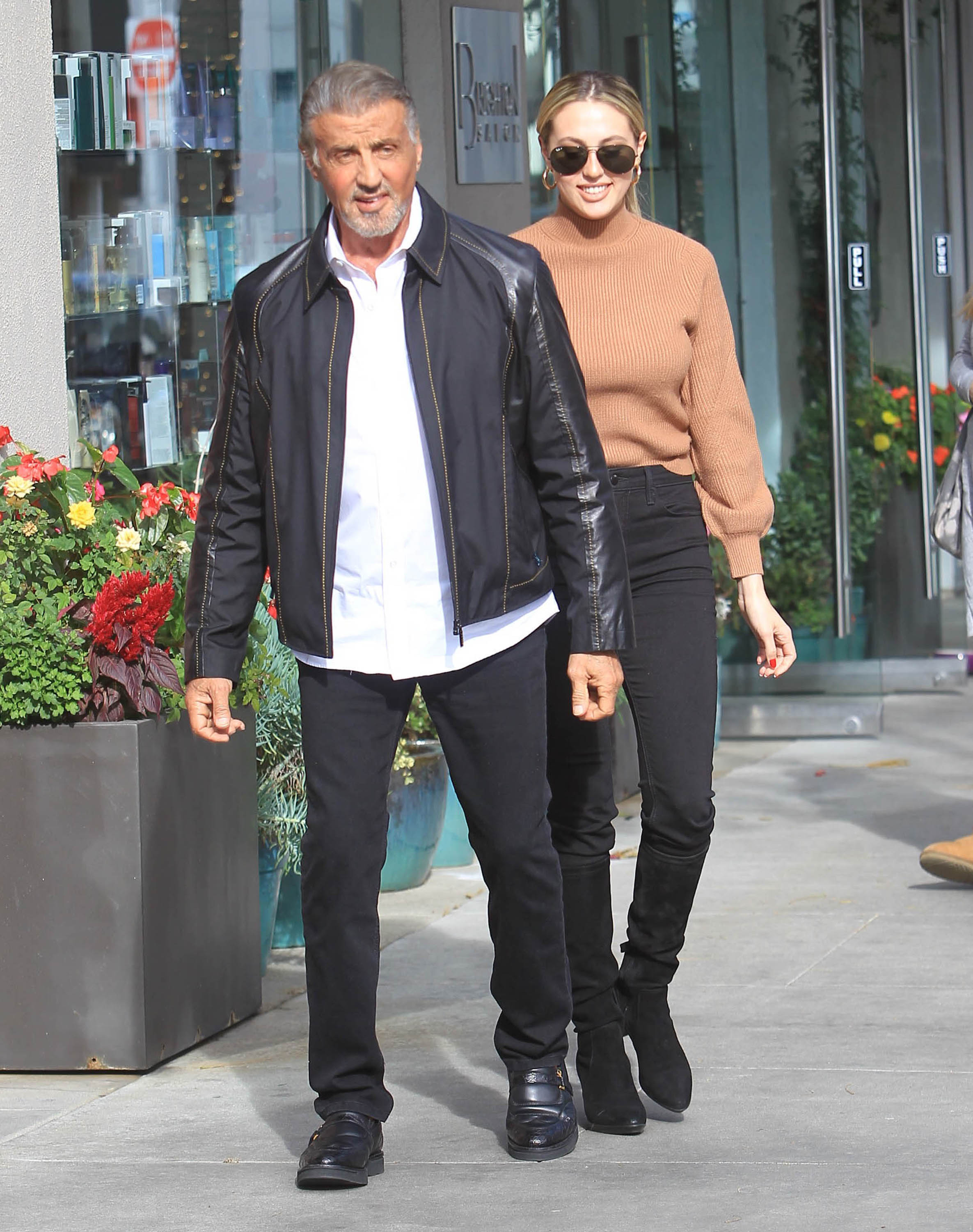 Silvester Stallone 2020 / Sistine Stallone And Sylvester ...