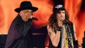 Aerosmith and Run-D.M.C. at the 2020 Grammys