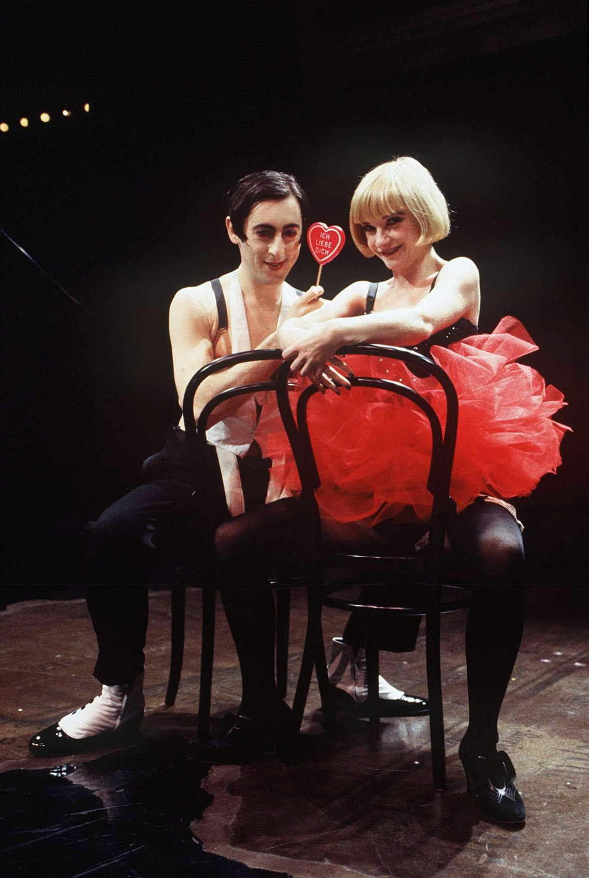 Alan Cumming in 'Cabaret'