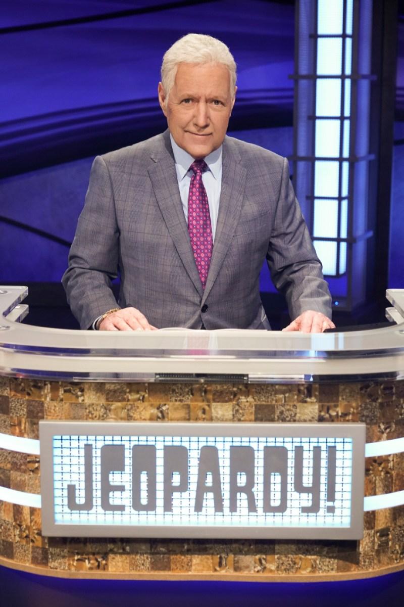 Alex Trebek Hosting 'Jeopardy! The Greatest of All Time'