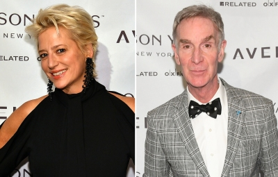 Dorinda Medley and Bill Nye
