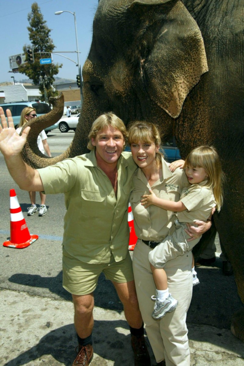 'THE CROCODILE HUNTER COLLISION COURSE' FILM PREMIERE AT THE CINERAMA DOME, HOLLYWOOD, CALIFORNIA, AMERICA - 29 JUN 2002