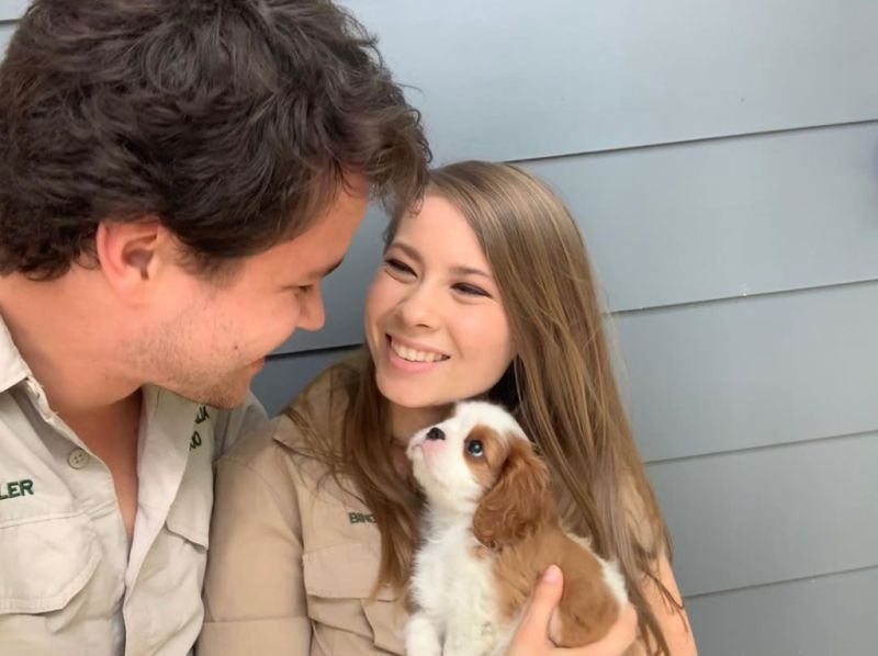Bindi Irwin and Chandler