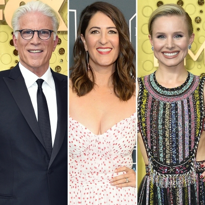 D'Arcy Carden and 'The Good Place' Costars Ted Danson and Kristen Bell