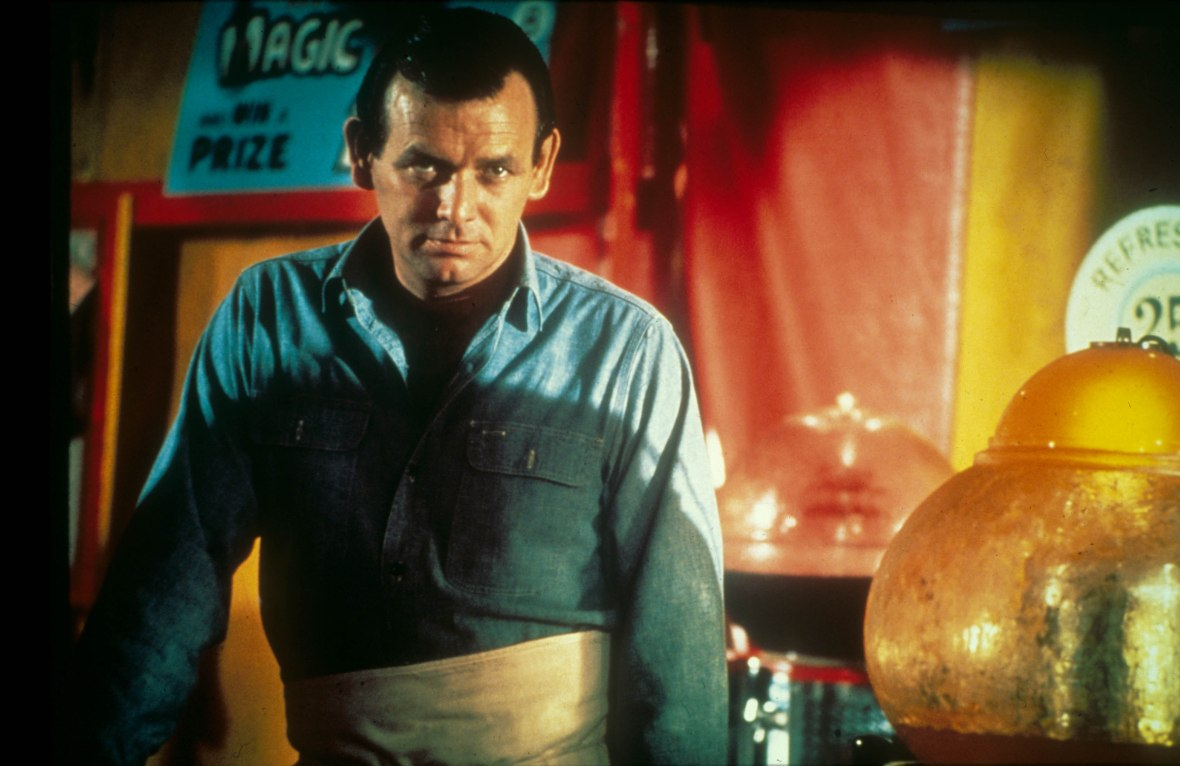 David Janssen on 'The Fugitive'