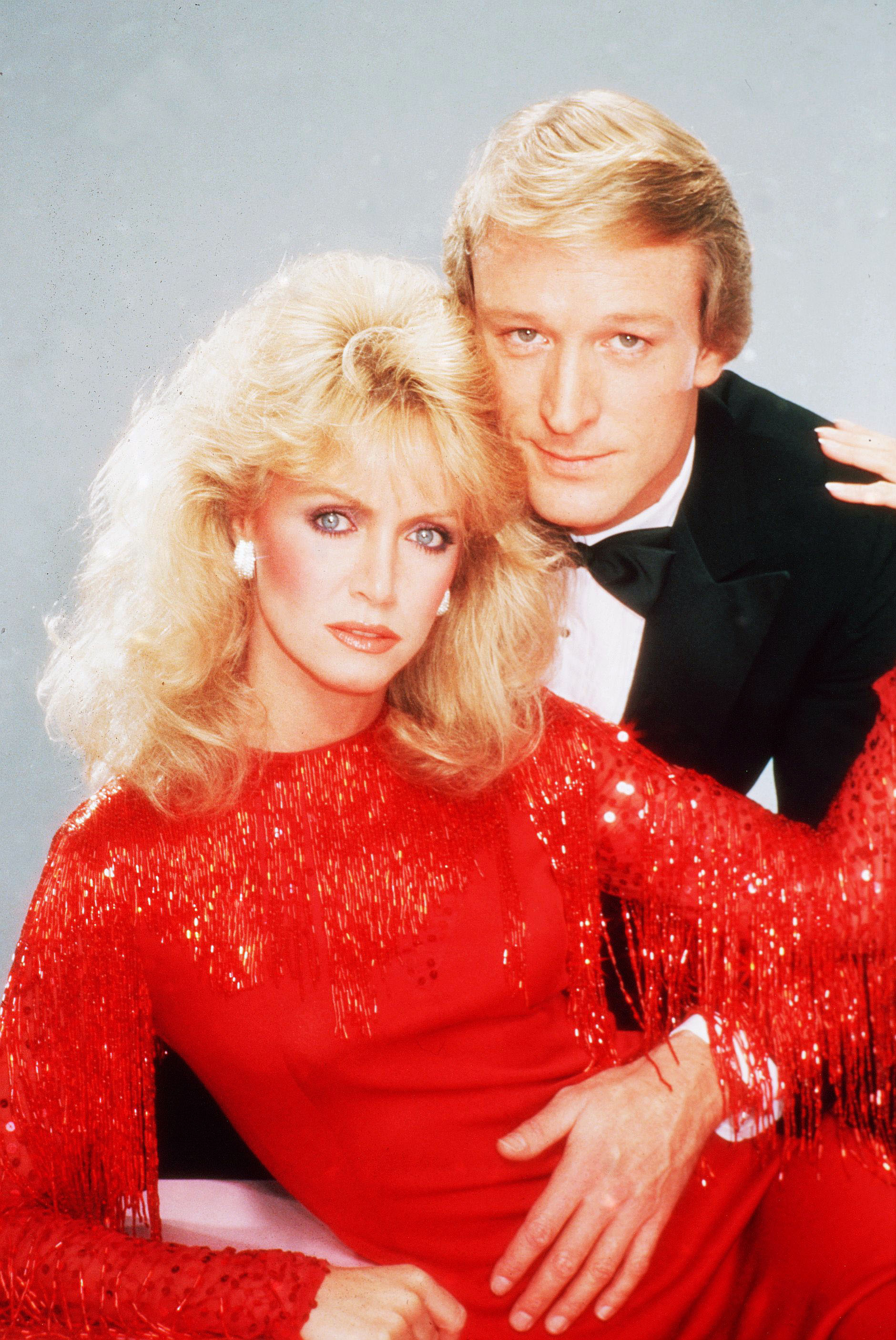 Donna Mills and Ted Shackelford on 'Knots Landing'