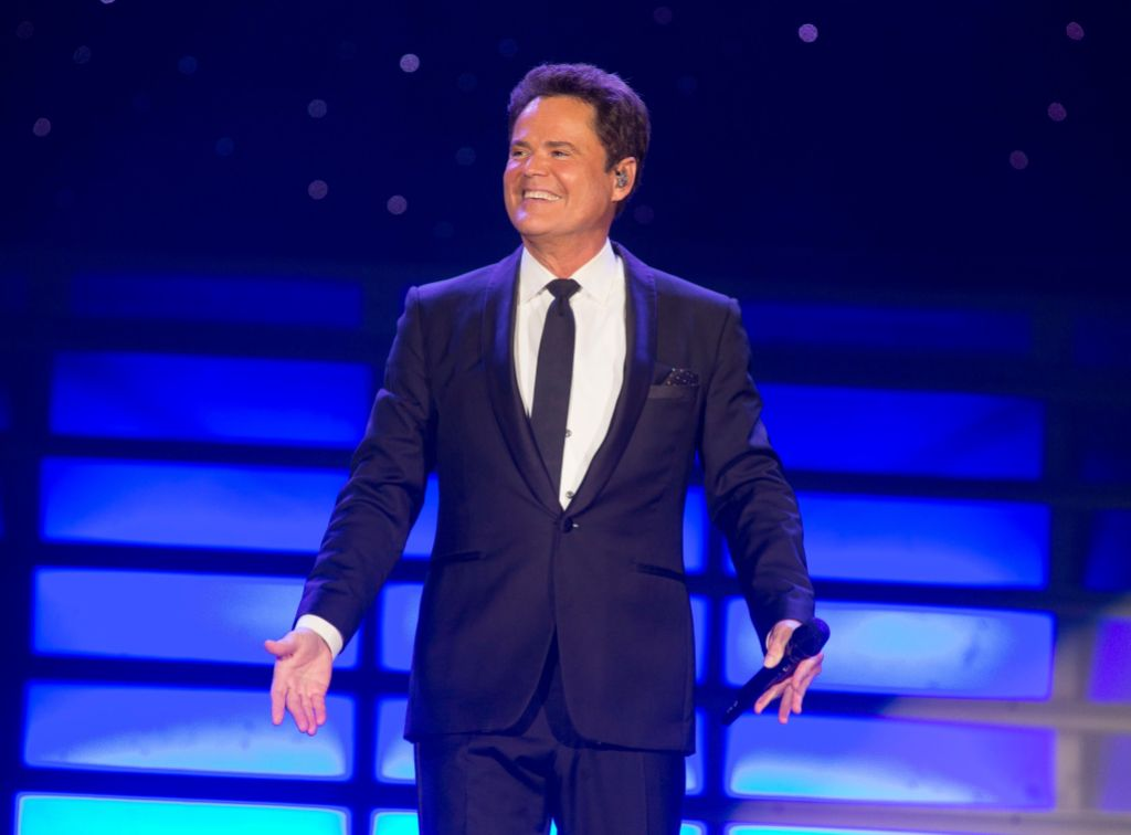 Donny and Marie Osmond In Concert - , Pa, Reading, USA - 22 Aug 2017