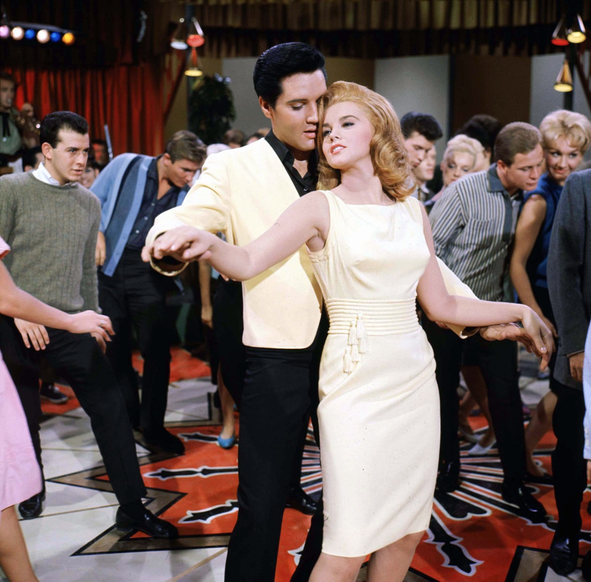 Elvis Presley and Ann-Margret in 'Viva Las Vegas'