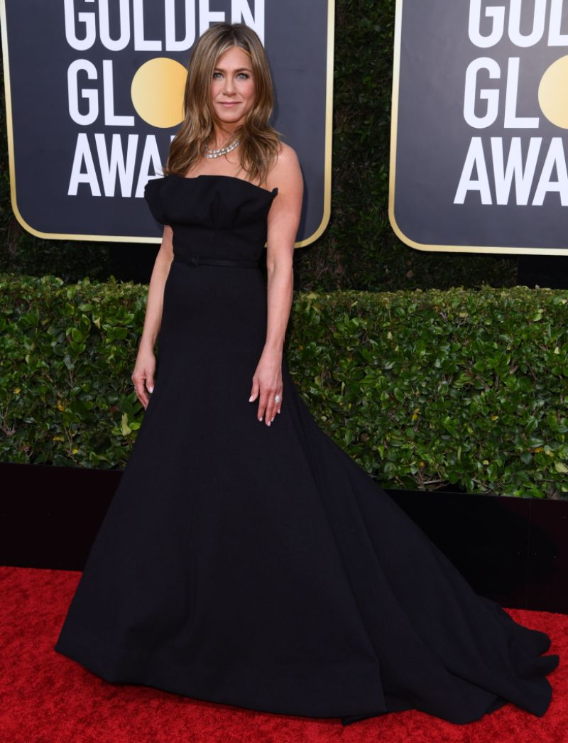 Jennifer Aniston Beams At Brad Pitt At The Golden Globes 2020