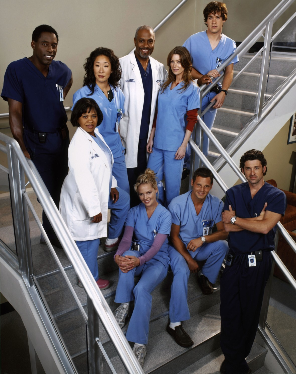 Grey's Anatomy Season 1 Original Cast