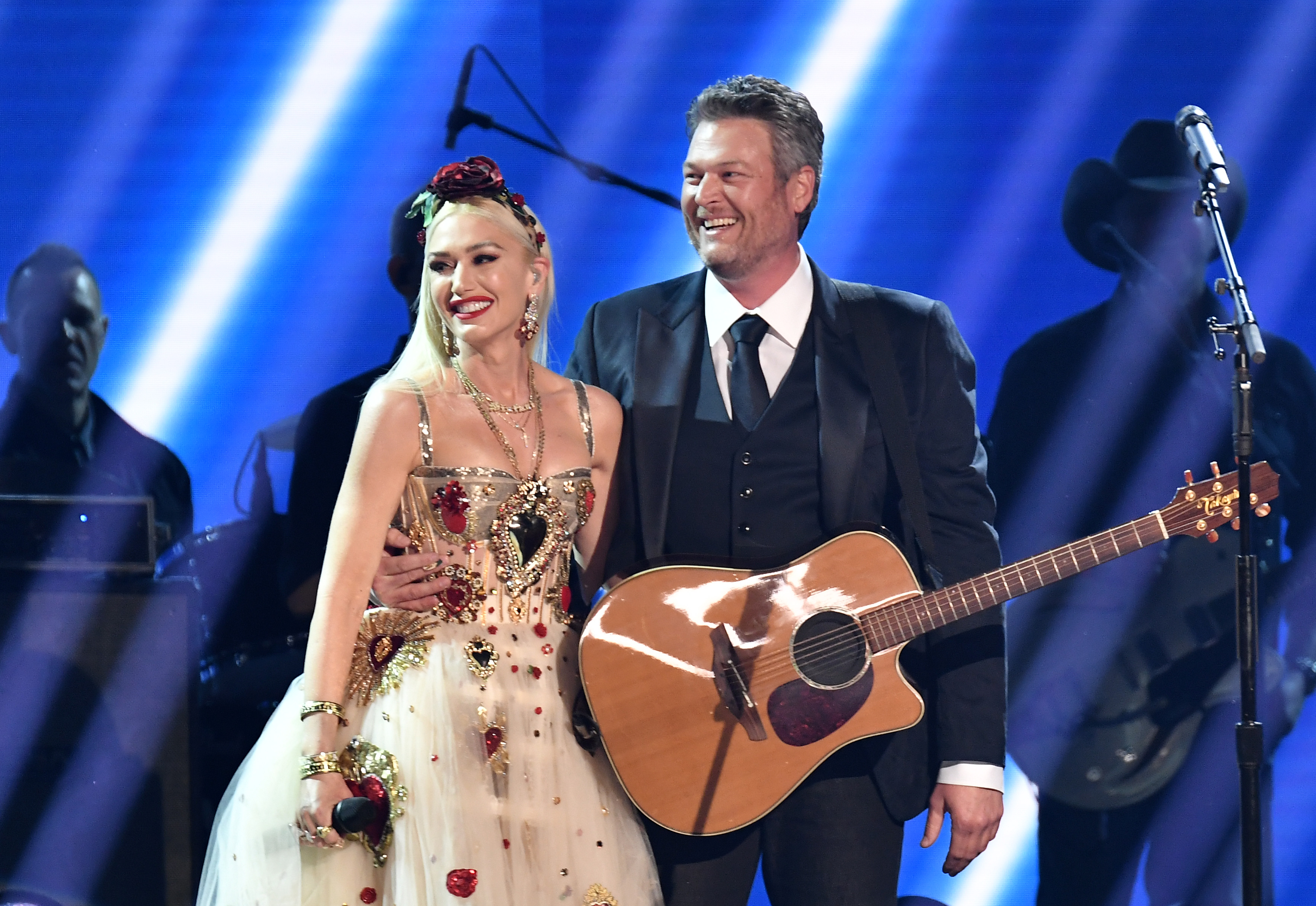 Gwen Stefani and Blake Shelton Look So in Love as They Perform 'Nobody But You' at 2020 Grammys