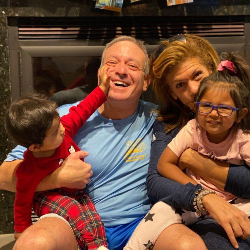 Hoda Kotb family