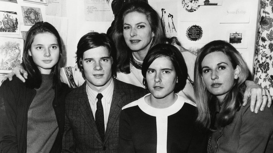Ingrid Bergman's Kids in 1967