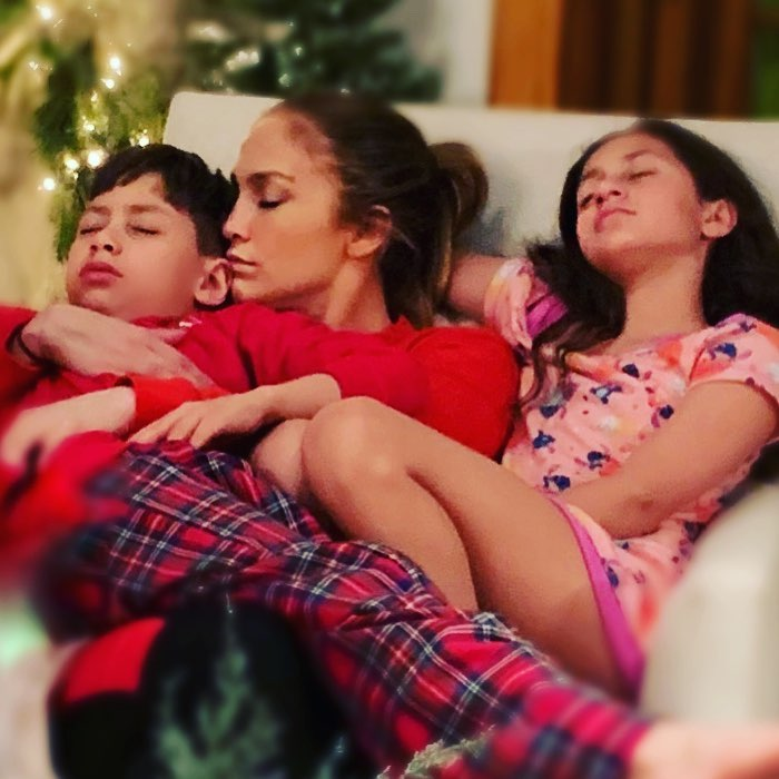 Jennifer Lopez Kids Meet Twins Emme And Max With Marc Anthony