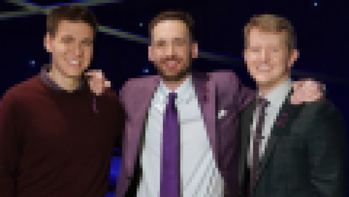 James Holzhauer, Brad Rutter and Ken Jennings on 'Jeopardy! The Greatest of All Time'