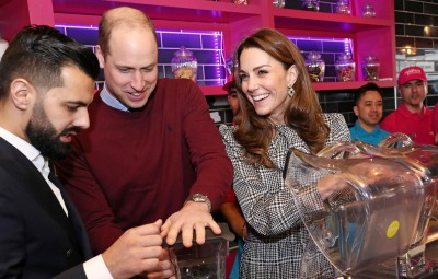 Prince William and Catherine Duchess of Cambridge Visit MyLahores Restaurant