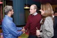 Prince William and Catherine Duchess of Cambridge Visit MyLahores Restaurant