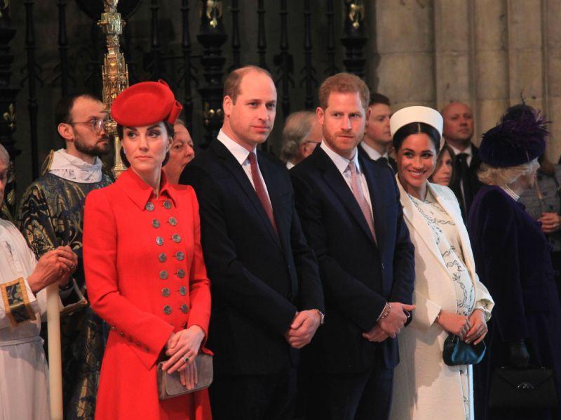Kate Middleton Prince William Prince Harry Meghan Markle