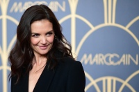 Katie Holmes Attends Marc Cain show at Berlin Fashion Week