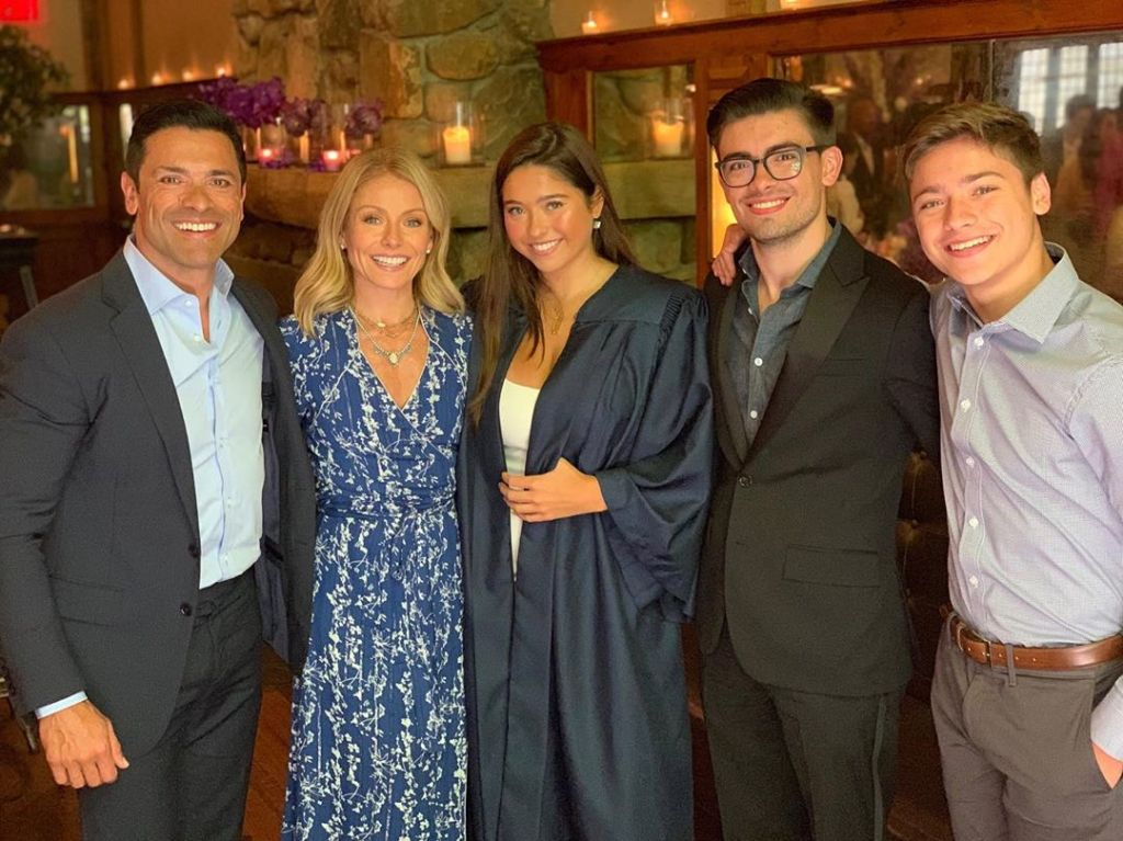 Kelly Ripa's family