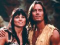 Kevin Sorbo and Lucy Lawless