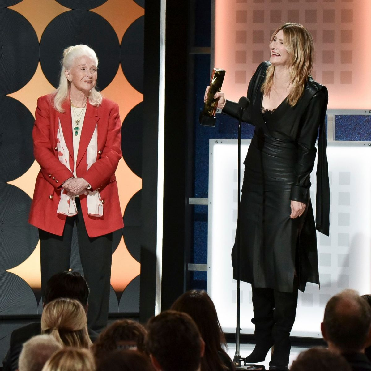 Laura Dern, 52, and Mom Diane Ladd, 84, Are All Smiles While Making Rare Red Carpet Appearance