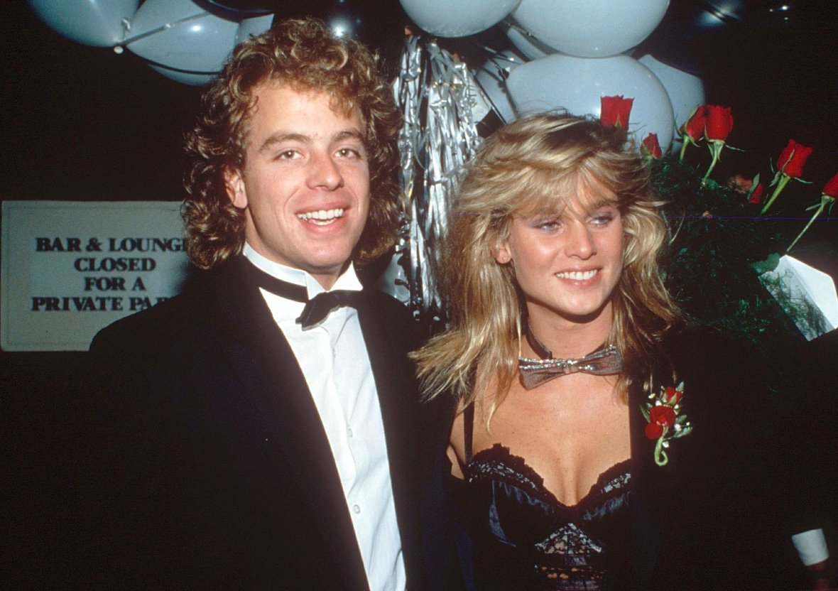Leif Garrett and Nicollette Sheridan