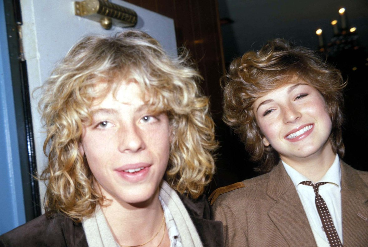 Leif Garrett and Tatum O'Neal