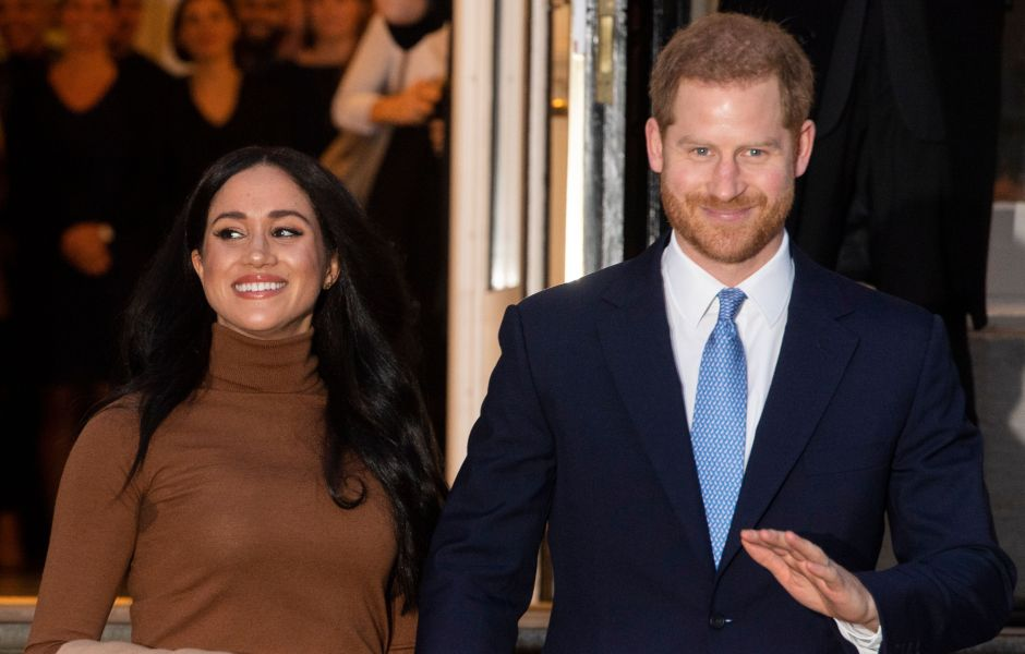 Duke and Duchess of Sussex at Canada House in London, United Kingdom - 07 Jan 2020