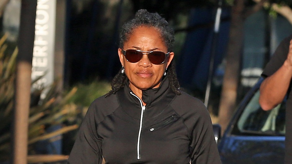 Doria Ragland seen out for a walk in Los Angeles on the day it was reported that her daughter Meghan Markle had left the UK for Canada, Meghan and Prince Harry announcing Yesterday that they would step back as senior members of the royal family