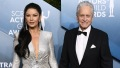 Michael Douglas and Catherine Zeta-Jones at the 2020 SAG Awards