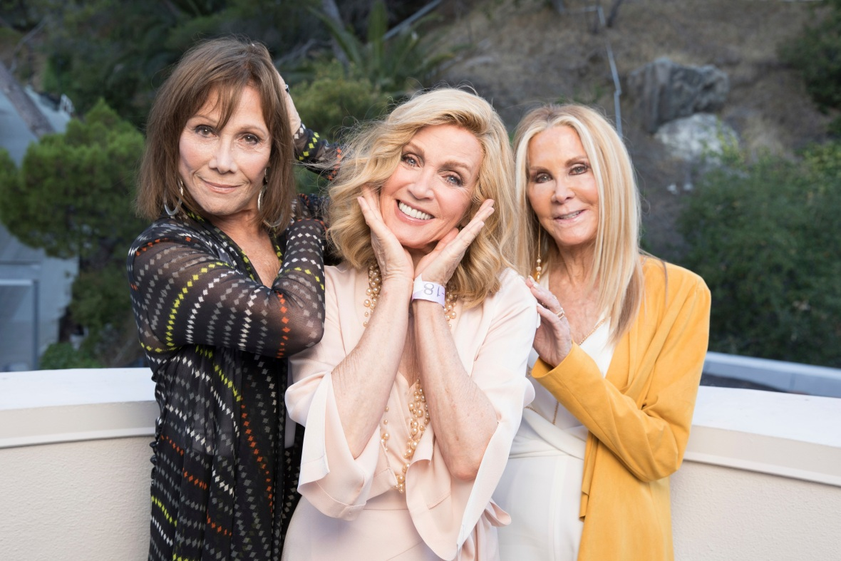 Michele Lee, Donna Mills and Joan Van Ark