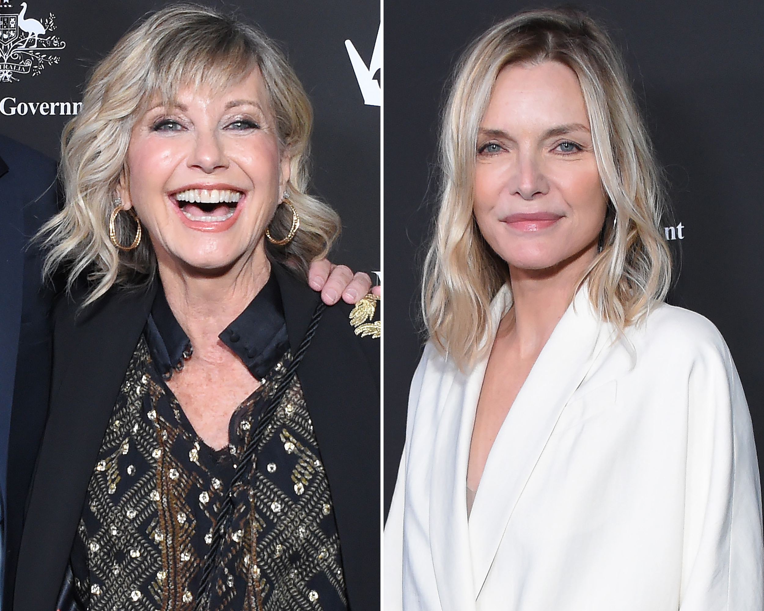 'Grease' Star Olivia Newton-John Takes Sweet Selfie With 'Grease' 2 Star Michelle Pfeiffer