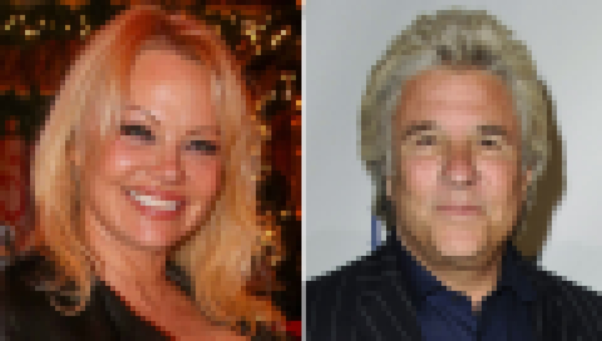 Pamela Anderson and Jon Peters Married