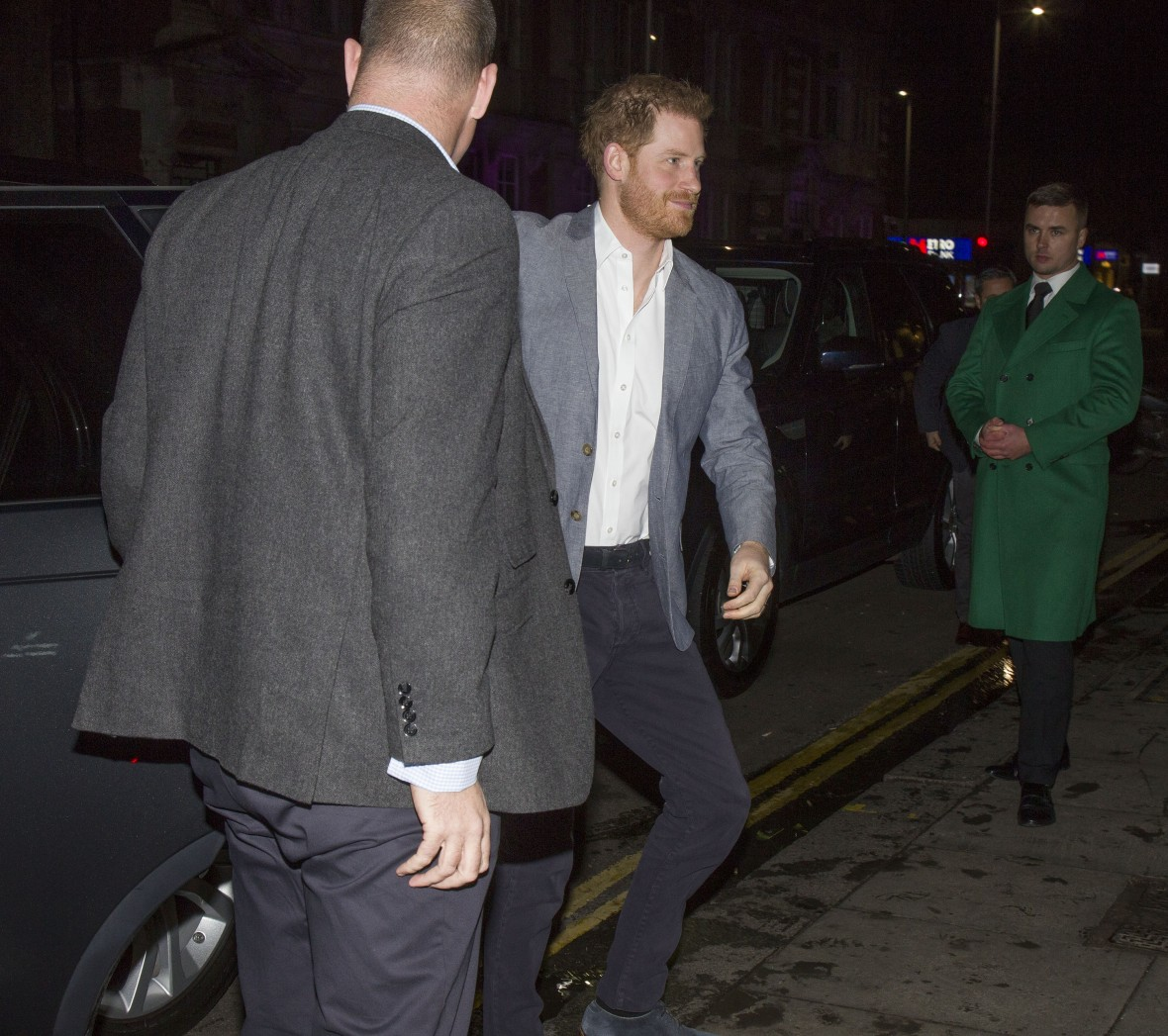 Prince Harry Gives First Speech Since Split From Royal Family