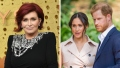 Meghan Markle Prince Harry Sharon Osbourne