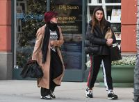 Sharon Osbourne and daughter Aimee out and about