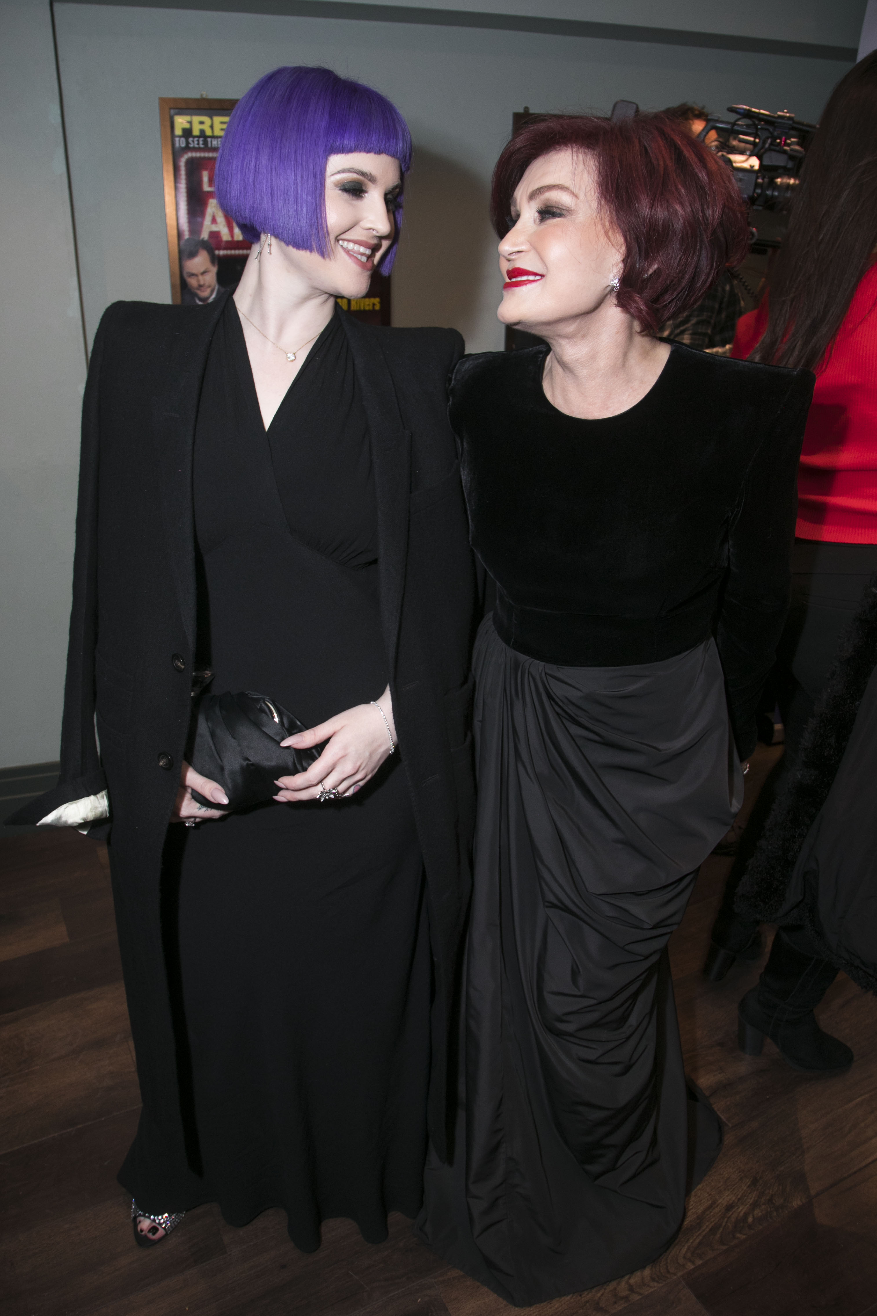 Kelly Osbourne Hilariously Grills Mom Sharon Following Fun Night Out at the 2020 Grammys